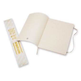Moleskine Classic Soft Covered Dotted Extra Large Notebook (KhakiBeige) - 3