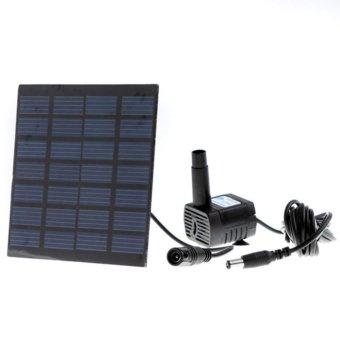 Moonar 1.2W Solar Energy Fountain Pump(Micro ),For Pond Fountain Rockery Fountain Garden Fountain - intl - 5