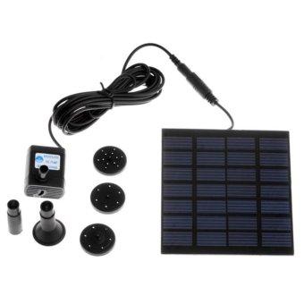 Moonar 1.2W Solar Energy Fountain Pump(Micro ),For Pond Fountain Rockery Fountain Garden Fountain - intl - 4