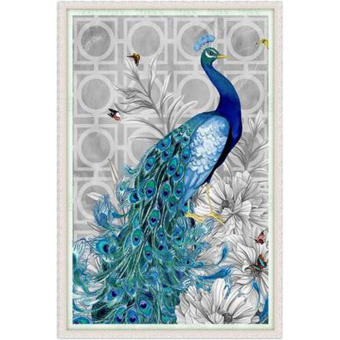 Detail Images Moonar 3245cm 5D Diamond Embroidery Painting Diy Peacock Mosaic Stitch Fine Craft Wall Decor Head To Right Ubdate