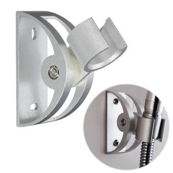 Moonar Adjustable Aluminum Durable Mount Bracket Semicircle Shower Head Holder - intl