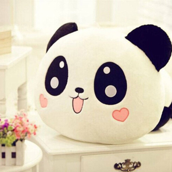 Moonar Lovely Panda Plush Doll Soft Toy Pillow 20CM Home Living