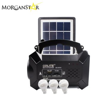 Morganstar GDLITE GD-8056 Rechargeable FM Radio Solar LightingSystem Price Philippines
