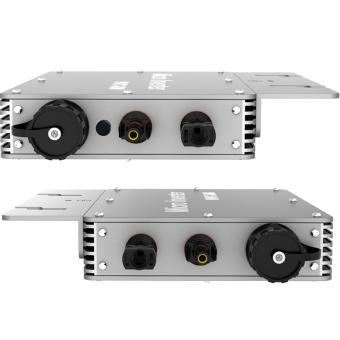MPPT 600W Waterproof Grid Tie Micro Inverter DC22-50V to AC180-260VPure Sine Wave Solar Inverter With 433MHz Wireless Communication -intl - 5