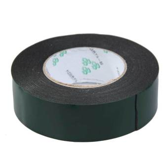 Multifunction 40mm*10m Foam Sponge Double Sided Adhesive Tape Black - picture 2