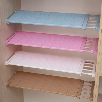 Nail-free Stretch Partition Shelf