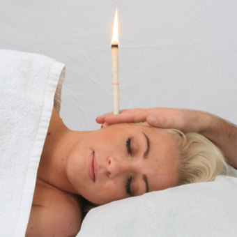 Natural Coning Quicker Ear Candling Therapy Straight Ear Care & Ear Candle