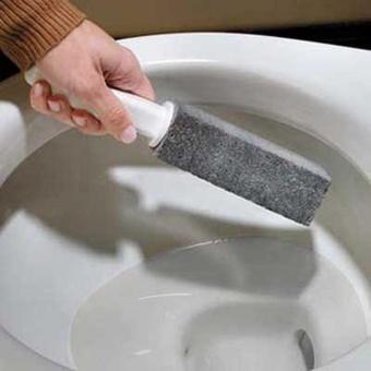 Natural Pumice Stone Toilets Dead Gap Brush Sinks Bathtubs Cleaner(gray) - intl