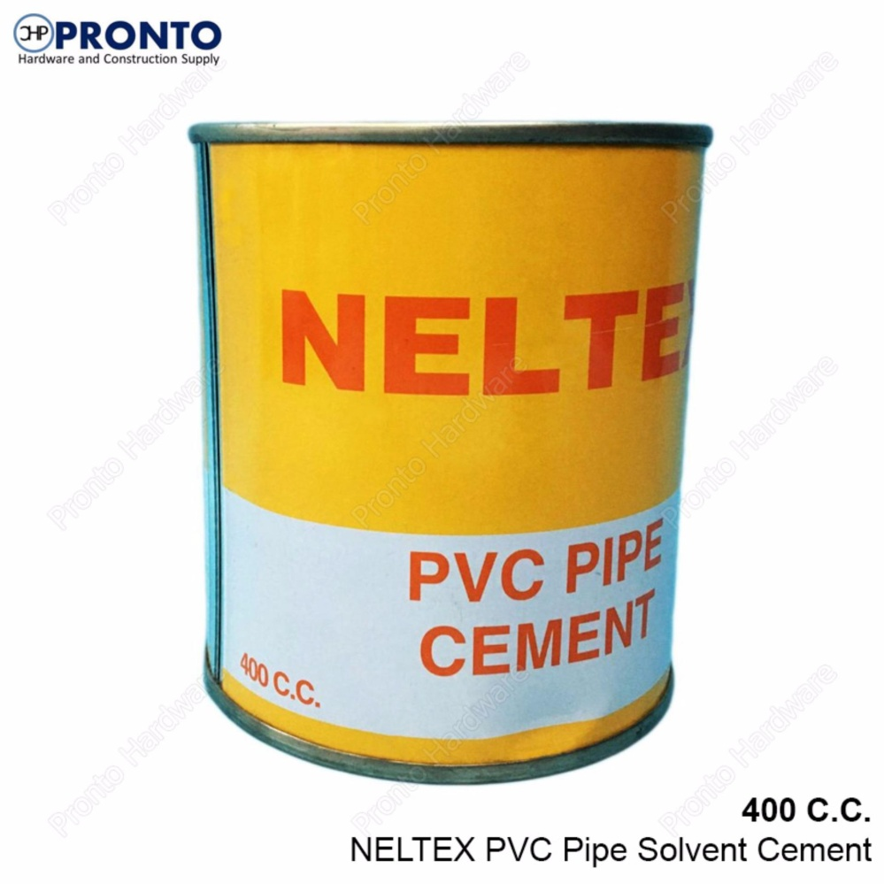 Solvent For Pvc Pipe And Cement : Neltex pvc pipe solvent cement cc philippines