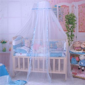New baby bed Home mosquito net Cute Baby Princess Canopy CribNetting Dome Bed Mosquito Net for Home Nursery - intl Price Philippines