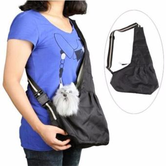 New Oxford Cloth Sling Pet Dog Puppy Cat Carrier Tote SingleShoulder Bag - intl
