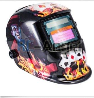 New Pro USA Auto Darkening Welding/Grinding Mask Helmet ACF - 4