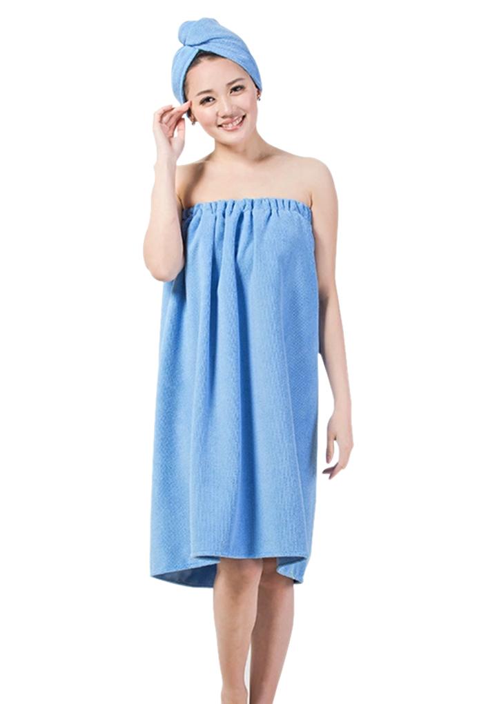 2d9836c314 Philippines Nice Women Bath Wrap Skirt Towel Robe Spa Bathrobe