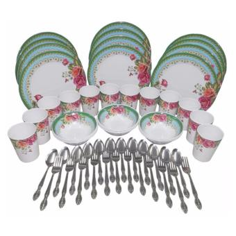 Nippon Ware 60-pc Party Set (Rosa Verde)