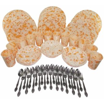 Nippon Ware 60 pc Party Sets (marble Orange)