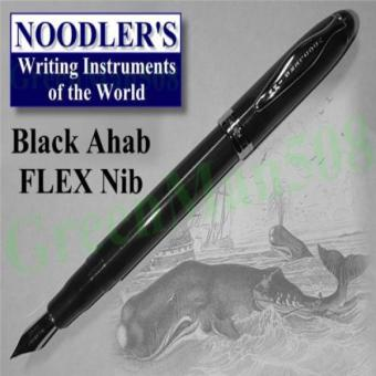 Philippines | Noodler's Ink Ahab Flex Nib Black Piston Fill Fountain Pen Last Hot Deals