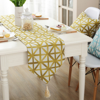 Nordic minimalist coffee table flag cover cloth Table Runner