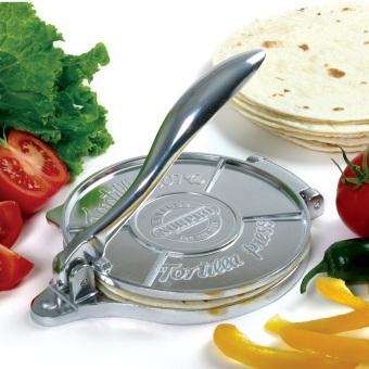 Norpro Cast Aluminum Tortilla Press - 4