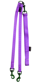 Nunbell Two Way Dual Pet Dog Leash (Violet)