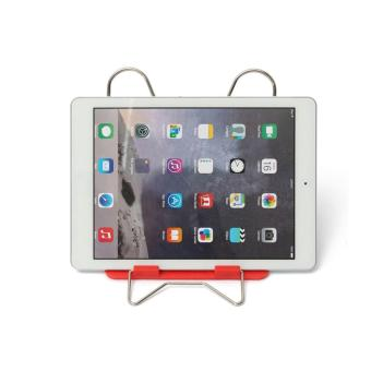 OH Adjustable Angle Foldable Portable Reading Book Stand Document Holder red - 3