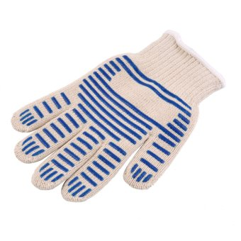 OH Heat Proof Resistant Cooking Kitchen Oven Mitt Glove For 540F Hot Surface