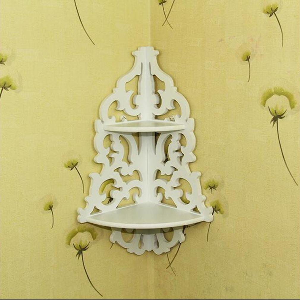 Philippines | OH Vintage Decor Floral White Wood Wall Corner Rack ...
