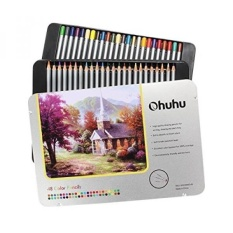 Ohuhu 72 Color Colored Pencil Drawing Pencils In Tin Case For Sketch Adults Coloring Book