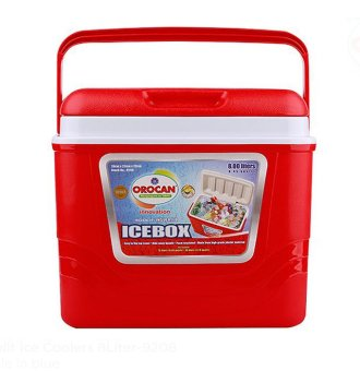 Orocan Koolit Ice Coolers Ice Box 8 Liters (Red)