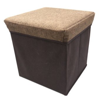 Ottoman Storage Box (Brown)