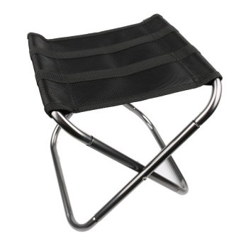Complete Outdoor Folding Fold Aluminum Chair Stool Seat Fishing Camping withCarry Bag - intl Product Preview