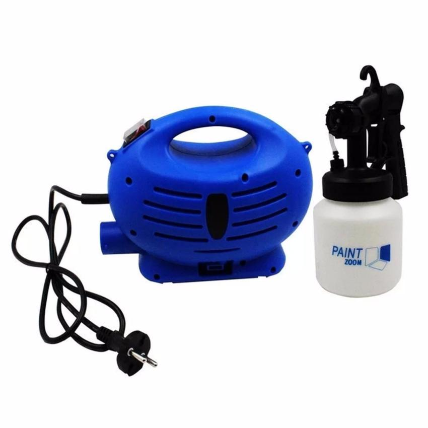 Paint Zoom Sprayer (Blue/White) With Free TH-K25 MultiPurposeStainless Steel Scissor (Blue Handle) - 3