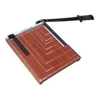 Paper Cutter Wood (Brown)