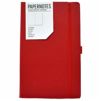 Papernotes Crimson Journal Notebook - Blank