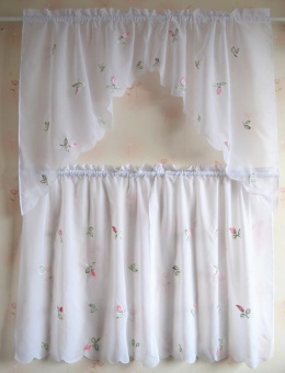 Pastoral embroidered's small chili door curtain PARK'S curtain