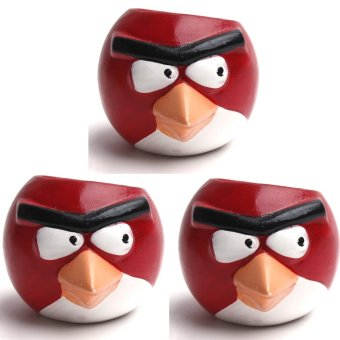 PC Urban Jungle Angry Birds Set of 3 (Red)