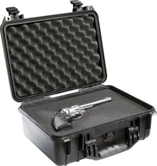 Pelican 1450BLK Medium Case with Foam (Black) - picture 2