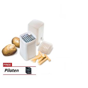 Perfect Fries Cutter (White) with FREE Pilaten