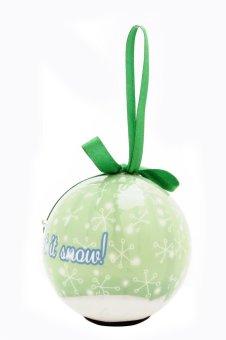 Perfect Holiday Collection LED Christmas Balls (Green) - 2