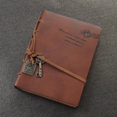 Retro Leather Cover Notebook Journal Diary Blank String Nautical Black - intlPHP563. PHP 567