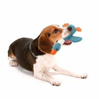 Pet Dog Sound Toys Solid Resistance To Bite Color:Blue - intl - 4