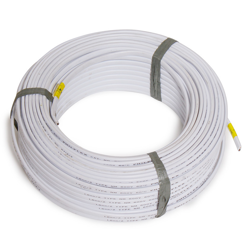 Philflex philippines philflex price list cables wires cords philflex flat cord 200 sq mm 2c 150mroll white keyboard keysfo Image collections