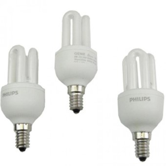 Philips Essential Bulb 8W E14 (Warm White) Set of 3
