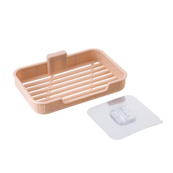 Plastic suction wall-mounted soap dish soap holder soap dish
