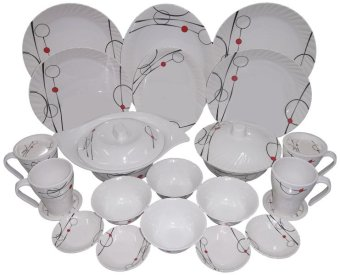 Pleats Dinner ware Sets - 24 pc