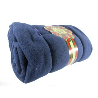 Polar Fleece Travel Blanket 50x60 (Navy Blue)