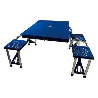 Portable Folding Table (Blue)