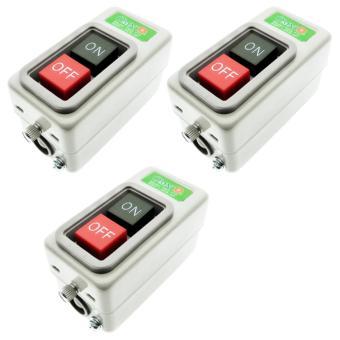 Power Push Button Switch 10A 1.5KW- PBS-310- 3set - 2