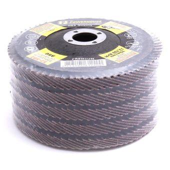 PowerHouse 52-502 A-60 Flap Disc Premium 5-piece Set Black