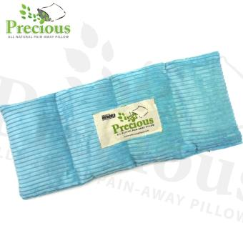 Precious Herbal Pillow Medium Herbal Pad Microwave Hot and ColdCompress Pain Reliever (Blue)