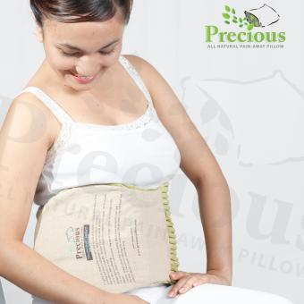 Precious Herbal Pillow Waist Herbal Pad Microwave Hot and Cold Compress Pain Reliever (Green)